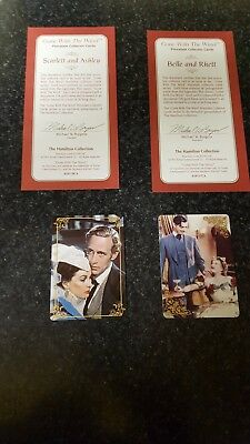 Gone With The Wind Porcelain Collector Cards