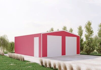 Metal Garage / Steel Building / Shed / Workshop / Warehouse 17ft x 15ft