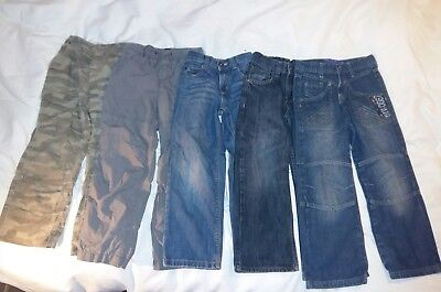 Boys bundle of jeans/trousers size 6-7 years 5 items
