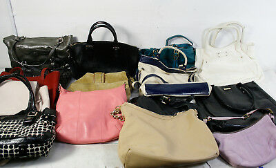 Lot of 15 Wholesale Mixed Designer Brands Bags