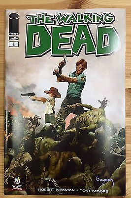 WALKING DEAD #1 St Louis 2013 Wizard World Comic Con Exclusive Variant Suydam