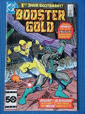 Booster Gold # 1 - (Nm-) - 1St App Of Booster Gold And Skeets - 1St Issue