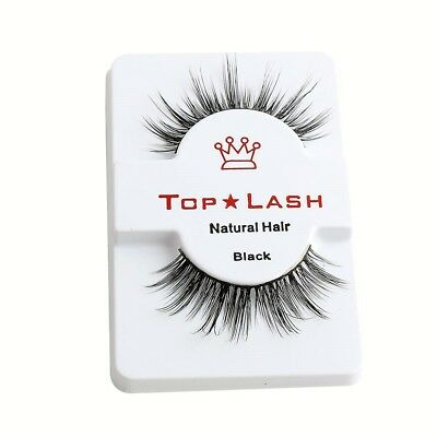 Top Lash 3D 100% Mink Luxury False Lashes Fake Eyelashes Long Thick Volume Us