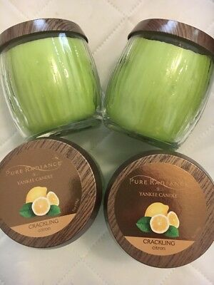Yankee Candle Pure Radiance Citron Candle Lot Of 2 New