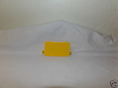 Replacement Fisher Price Tuff Stuff Cassette Player Yellow BATTERY COVER ~
