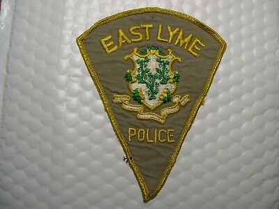 East Lyme Police Connecticut O/s