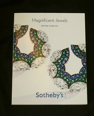 Sotheby's Catalog - Magnificent Jewels 14 April  2011 New York