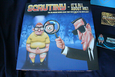 Scrunity - It's All About Me! Board Game