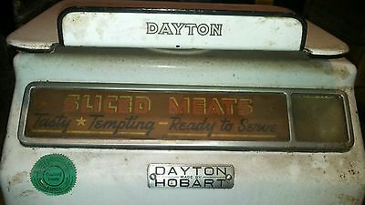 Rare Vintage Dayton Butcher Meat Scale,deli,produce,weights,market,pounds,