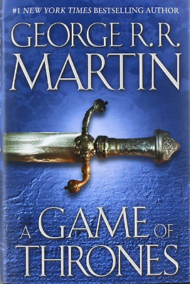 George RR Martin A Game of Thrones 1 Hardcover Edition Later Print Near Fine