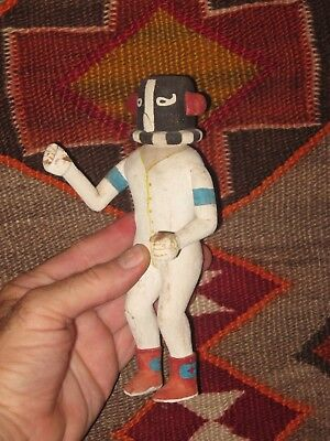HOPI KATSINA OLD KOKOPELLI NATIVE AMERICAN INDIAN KACHINA -LOW START ~ c1935!