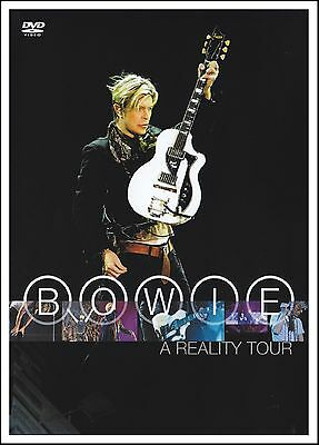 David Bowie - A Reality Tour Dvd ( Pal ) Changes~Heroes~Ziggy Stardust +++ *New*