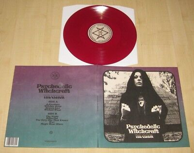 PSYCHEDELIC WITCHCRAFT - The Vision col. Vinyl LP Coven The Devil's Blood Purson