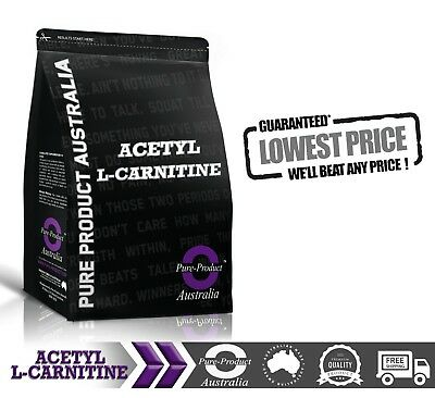 Acetyl L Carnitine Pure Powder 500G Alcar * Premium Grade * Laboratory Tested