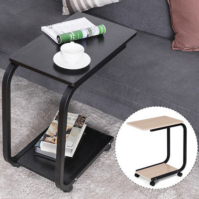 Admirable Mobile Coffee Tray Sofa Bed Side Table Couch Room Console Unemploymentrelief Wooden Chair Designs For Living Room Unemploymentrelieforg