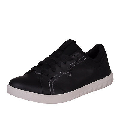 DIESEL Size 43 / UK 9 S-STUDDZY LACE FW 2017 Genuine Leather Low Top Sneakers