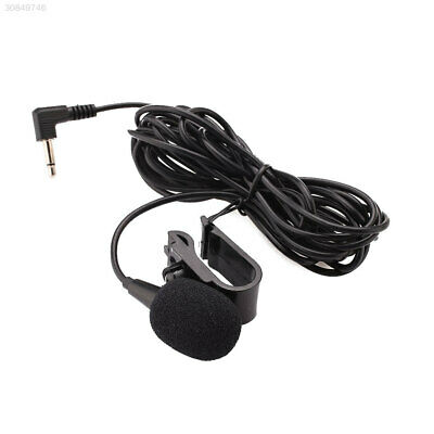 3.5mm Jack Plug External Microphone Mic With Tie Collar Shirt for Car Radio