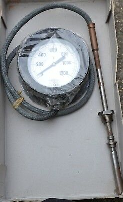 Brannan 130mm Dial 0° to 1200°F Thermometer
