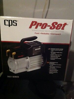 new cps-trs21 refrigerant recovery pump