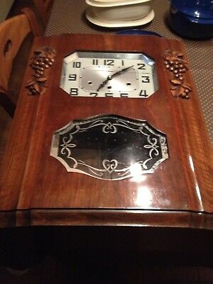 Carillon Jura N° 23 Clock  8 Tiges 8 Marteaux Westminster Work Well No Odo
