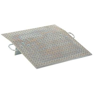 Lightweight Hand Truck Traffic Aluminum Beveled Entrance Heavy Duty Dock Plate