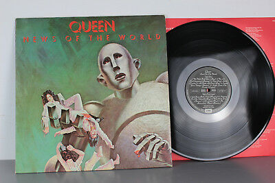 Vinly, Lp, Queen, News of the World, Lc 0542, 1977 D