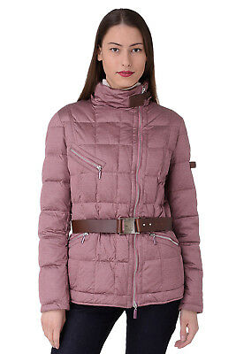 PIQUADRO Size 44 / S Women's GI2852J38 Down Detachable Hood Quilted Jacket