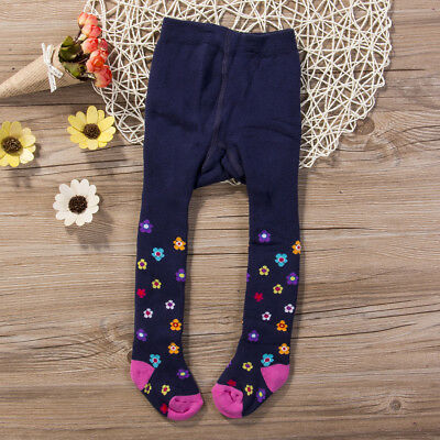 Size S Baby Girls Toddler Pure Cotton Warm Tights Stockings Pantyhose Pant Socks