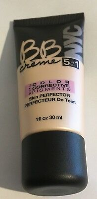 NYC BB Cream 5 in 1 Skin Perfector With Colour Correcting Pigments Light 01