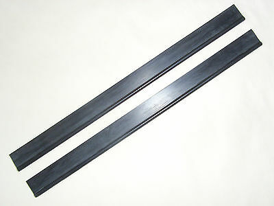 KARCHER WV1 Window Vacuum Cleaner Squeegee Rubber Blades, 250mm x 2, new