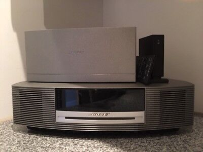 Bose Wave Dab Radio CD System with Soundlink Adapter 'Immaculate' condition.