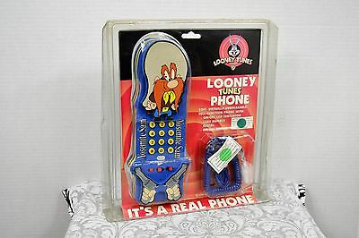 Looney Tunes Yosemite Sam Soft Phone New In Package Extremely Rare