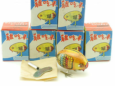 MS 006 6x Pecking Chicken Pickendes Huhn Blech Uhrwerk China OVP ST 1412-06-71