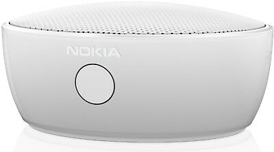 Nokia MD-12 Rechargeable Wireless Bluetooth Speaker NFC Mini IOS Android - White