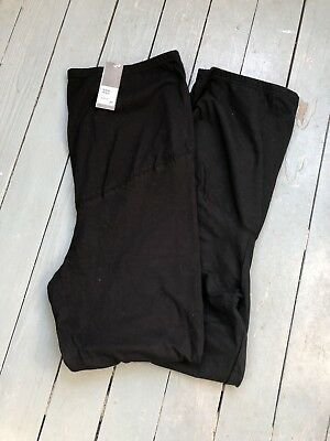 NWT Black Maternity Leggings XL Times Two