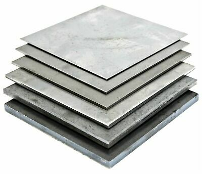 Guillotine Cut MILD STEEL SHEET 0.9mm - 5.0mm Thick Pre Cut Popular Sizes