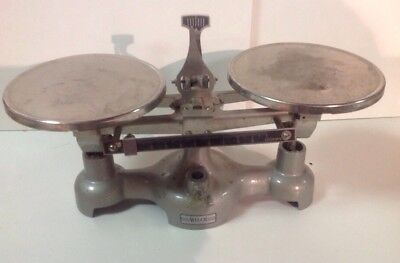 Vintage Welch Scientific Double Pan Balance Scale