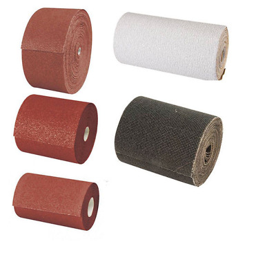 Sandpaper Sanding Rolls (Choose size and Grit)
