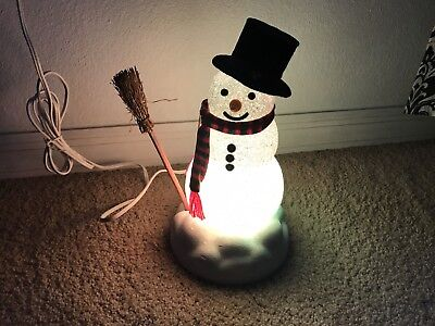 Chilly Sam Light Up Snowman-Avon The Gift Collection-Christmas