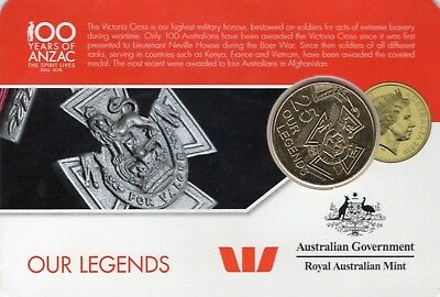Legends of the ANZACS - ROYAL AUSTRALIAN MINT- 2016 Coin Collection
