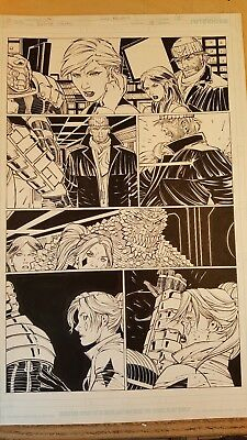 Suicide Squad Harley Quinn interior art!  John Romita Jr Richard Friend  NICE!