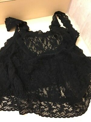 Hanky Panky Signature Lace Unlined Camisole Plus Size - Women's Black 3x