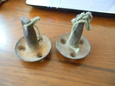 Nice Lot Of Two Antique Vintage Duck Decoy Weights
