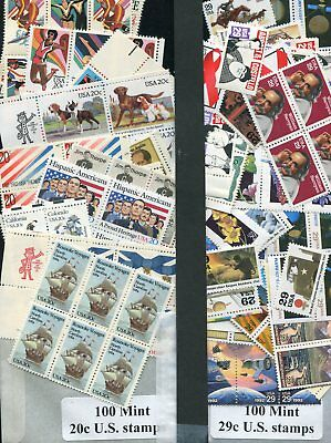 Mint 49 cent 2 stamp-combo rate discount postage x100 FV $49.00 @ 67%  1/3rd OFF