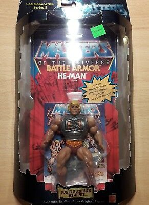 Battle-Armor He-man Commemorative Series II MOC ! Ungeöffnet ! Sealed ! OVP !
