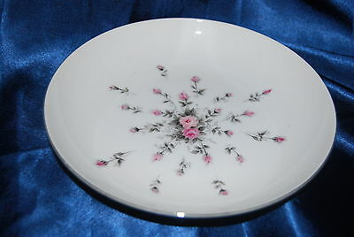 Rosebud China Coupe Soup Bowls  by Harmony House From Japan Pattern #3534