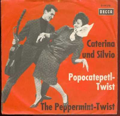 "Oldie Single 7"" Caterina und Silvio - Peppermint - twist"