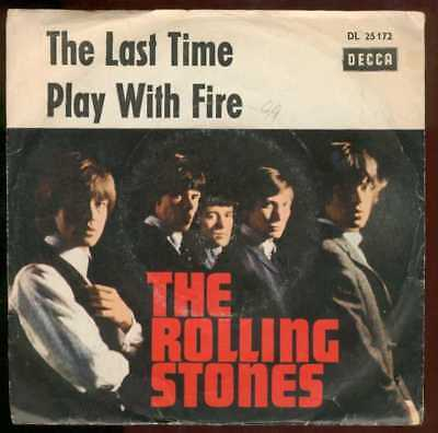 "Oldie Single 7"" Rolling Stones - The last time"
