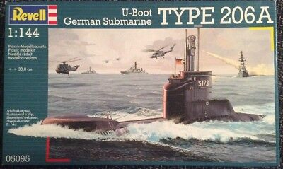 Revell 05095 U-Boot Type 206A 1:144 ovp