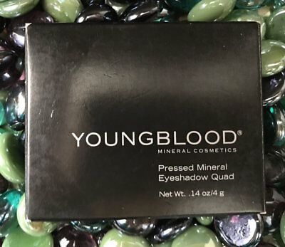Youngblood Pressed Mineral Eyeshadow Quad (VINTAGE) 4g FREE SHIPPING FAST